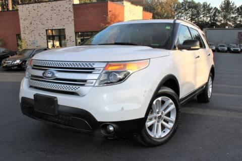2011 Ford Explorer for sale at Atlanta Unique Auto Sales in Norcross GA