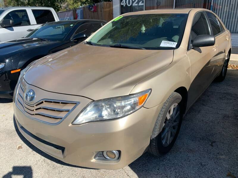 2010 Toyota Camry for sale at H & H AUTO SALES in San Antonio TX