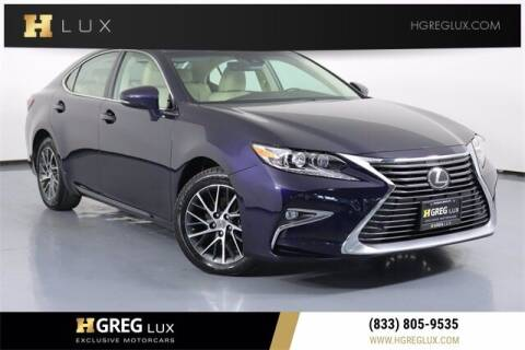 2018 Lexus ES 350 for sale at HGREG LUX EXCLUSIVE MOTORCARS in Pompano Beach FL
