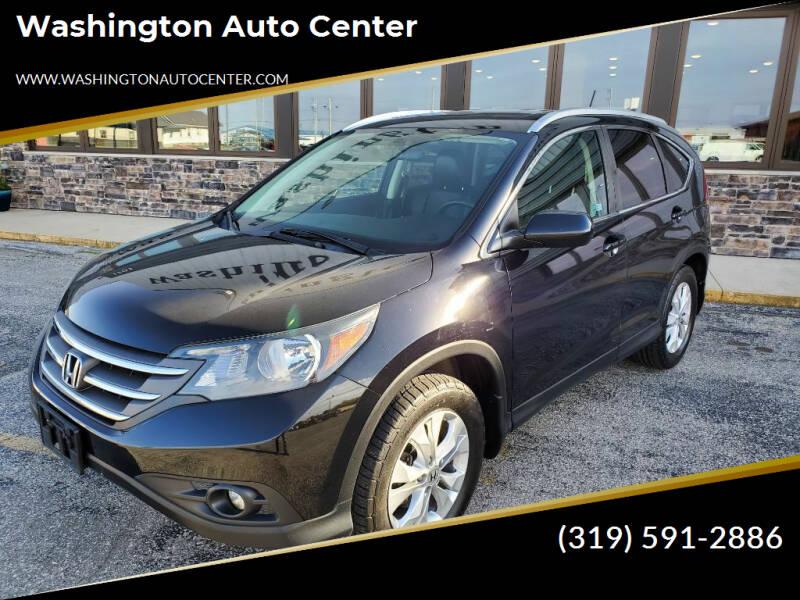 2013 Honda CR-V for sale at Washington Auto Center in Washington IA