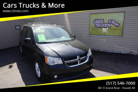 2018 Dodge Grand Caravan for sale at Cars Trucks & More in Howell MI
