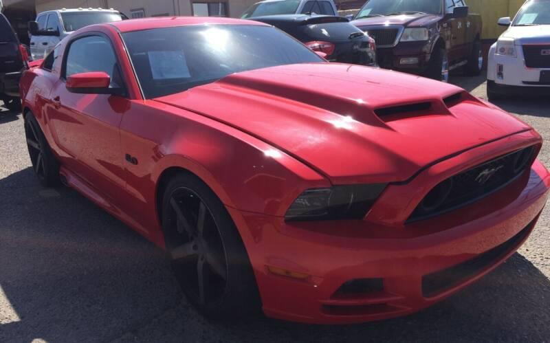 2013 Ford Mustang for sale at BID & WIN MOTORS in El Paso TX