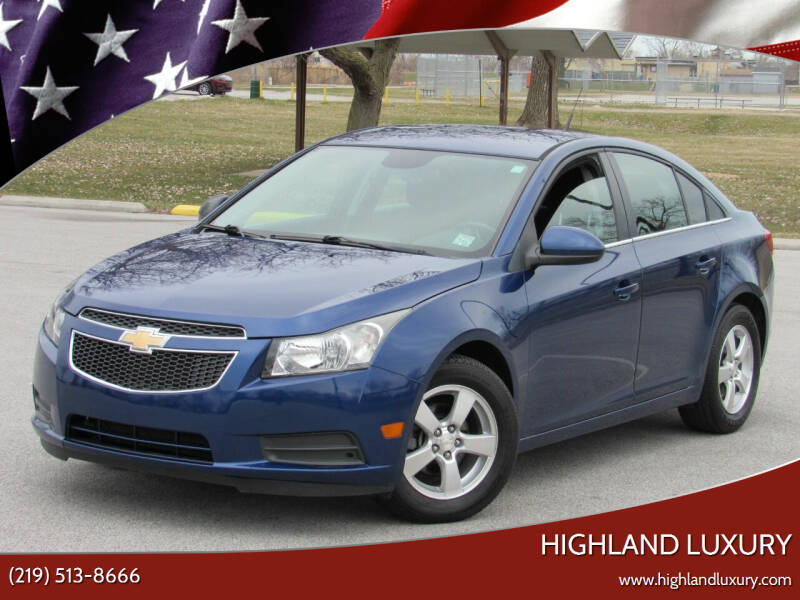 2012 Chevrolet Cruze for sale at Highland Luxury in Highland IN