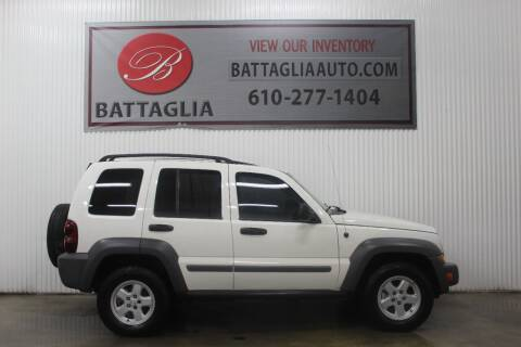 2005 Jeep Liberty for sale at Battaglia Auto Sales in Plymouth Meeting PA