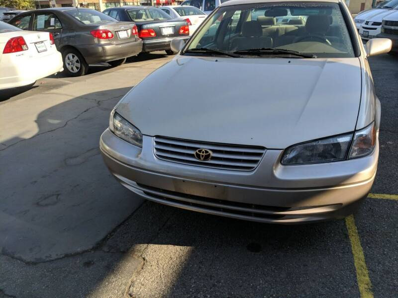 1997 Toyota Camry for sale at Auto City in Redwood City CA