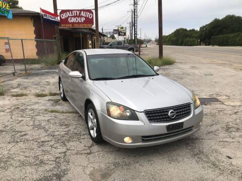 2005 Nissan Altima for sale at Quality Auto Group in San Antonio TX