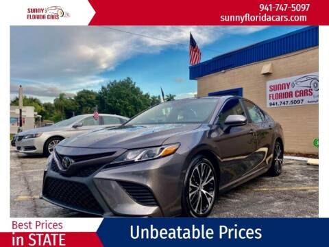 2020 Toyota Camry for sale at Sunny Florida Cars in Bradenton FL