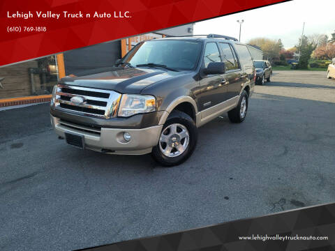 2008 Ford Expedition for sale at Lehigh Valley Truck n Auto LLC. in Schnecksville PA