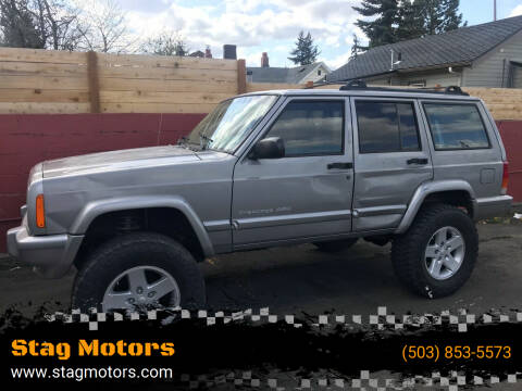 2001 Jeep Cherokee for sale at Stag Motors in Portland OR