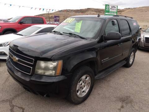 2008 Chevrolet Tahoe for sale at Hilltop Motors in Globe AZ