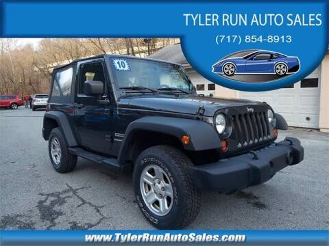2010 Jeep Wrangler for sale at Tyler Run Auto Sales in York PA