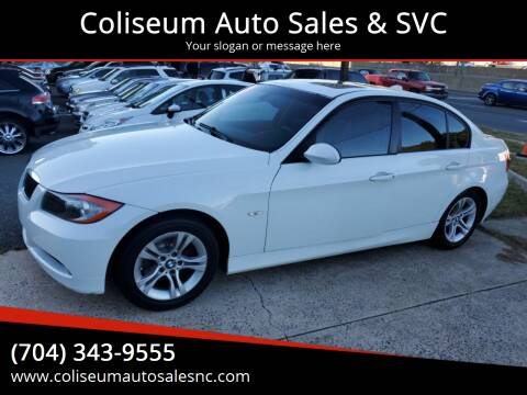 2008 BMW 3 Series for sale at Coliseum Auto Sales & SVC in Charlotte NC