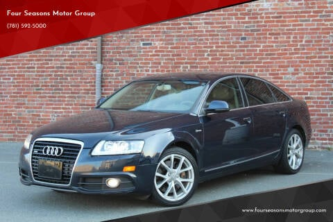 2011 Audi A6 for sale at Four Seasons Motor Group in Swampscott MA
