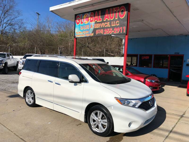 2011 Nissan Quest for sale at Global Auto Sales and Service in Nashville TN