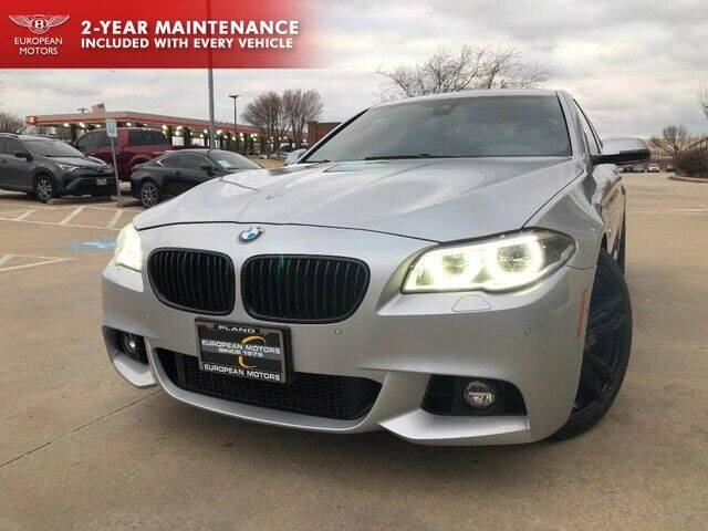 2014 BMW 5 Series for sale at European Motors Inc in Plano TX