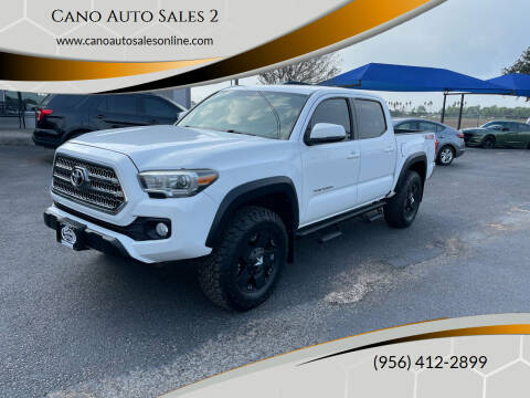 2017 Toyota Tacoma for sale at Cano Auto Sales 2 in Harlingen TX