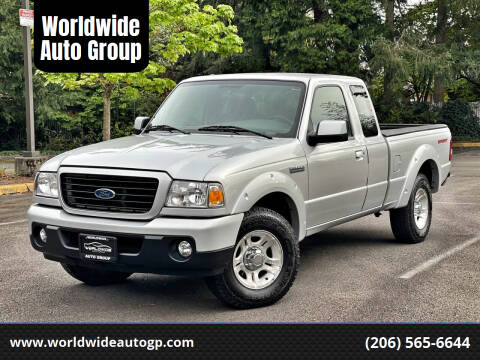2009 Ford Ranger for sale at Worldwide Auto Group in Auburn WA