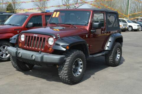 2008 Jeep Wrangler for sale at Performance Motor Cars in Washington Court House OH