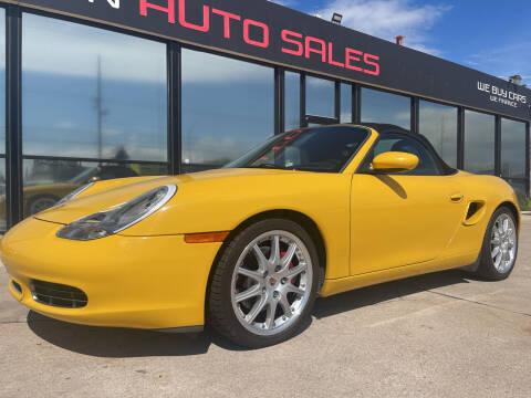 2001 Porsche Boxster for sale at Tucson Auto Sales in Tucson AZ