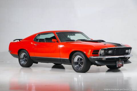 1970 Ford Mustang for sale at Motorcar Classics in Farmingdale NY