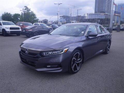2019 Honda Accord for sale at BEAMAN TOYOTA GMC BUICK in Nashville TN