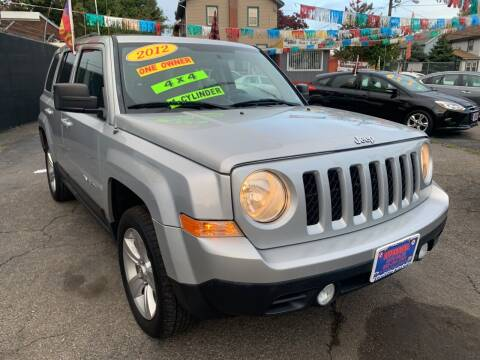 2012 Jeep Patriot for sale at Affordable Auto Sales in Irvington NJ