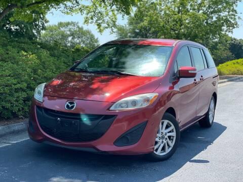 2015 Mazda MAZDA5 for sale at William D Auto Sales in Norcross GA