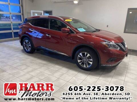 2018 Nissan Murano for sale at Harr's Redfield Ford in Redfield SD