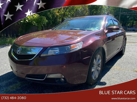 2012 Acura TL for sale at Blue Star Cars in Jamesburg NJ
