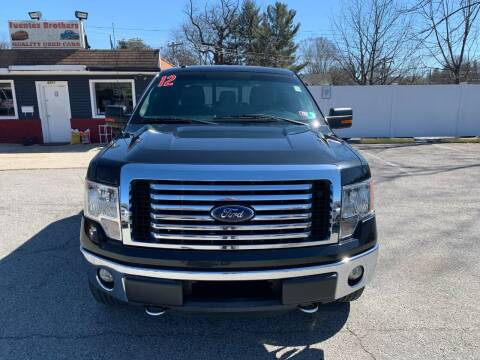 2012 Ford F-150 for sale at Fuentes Brothers Auto Sales in Jessup MD