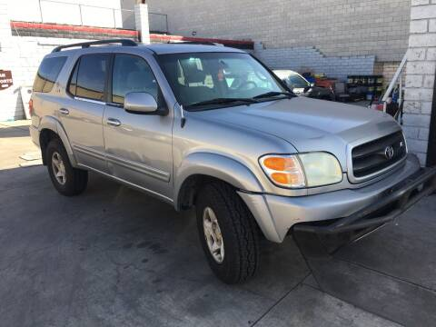 2001 Toyota Sequoia for sale at OCEAN IMPORTS in Midway City CA