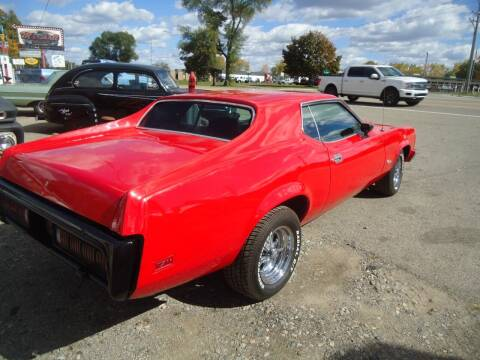 1973 Mercury Cougar for sale at Marshall Motors Classics in Jackson Michigan MI