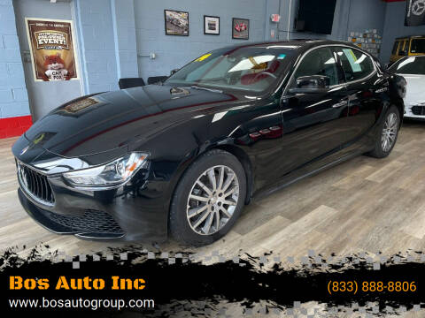 2014 Maserati Ghibli for sale at Bos Auto Inc in Quincy MA