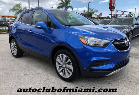 2018 Buick Encore for sale at AUTO CLUB OF MIAMI in Miami FL