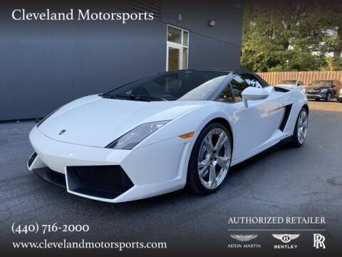 2013 Lamborghini Gallardo for sale at Drive Options in North Olmsted OH