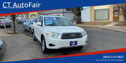 2008 Toyota Highlander for sale at CT AutoFair in West Hartford CT