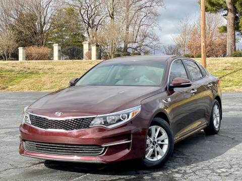 2017 Kia Optima for sale at Sebar Inc. in Greensboro NC
