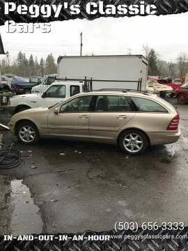 2002 Mercedes-Benz C-Class for sale at Peggy's Classic Cars in Oregon City OR