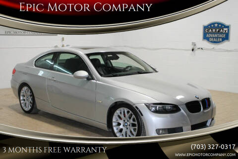 2008 BMW 3 Series for sale at Epic Motor Company in Chantilly VA