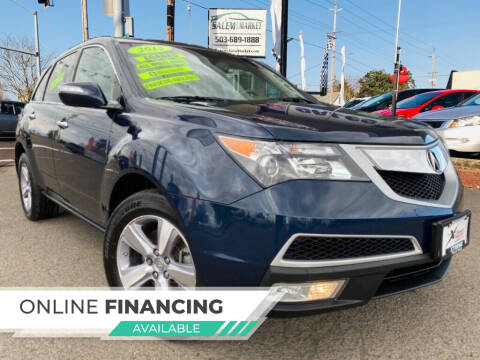 2013 Acura MDX for sale at Salem Auto Market in Salem OR