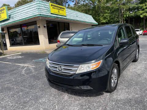 2012 Honda Odyssey for sale at Diana Rico LLC in Dalton GA