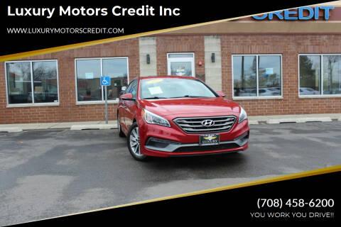 2017 Hyundai Sonata for sale at Luxury Motors Credit Inc in Bridgeview IL