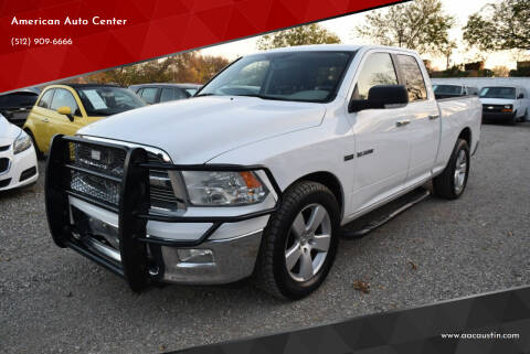 2010 Dodge Ram Pickup 1500 for sale at American Auto Center in Austin TX