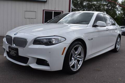 2013 BMW 5 Series for sale at Dealswithwheels in Inver Grove Heights MN