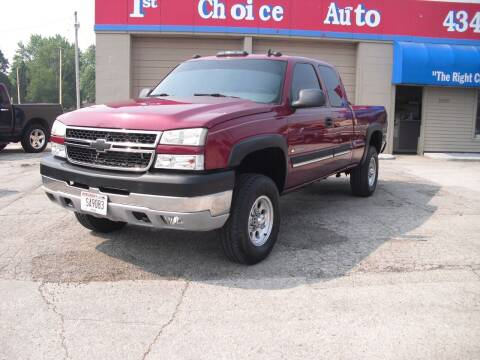 2006 Chevrolet Silverado 2500HD for sale at 1st Choice Auto Inc in Green Bay WI