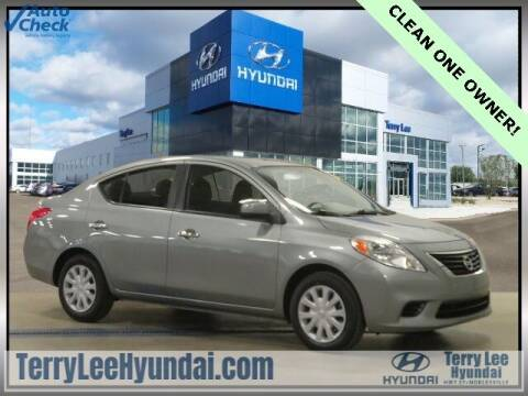 2012 Nissan Versa for sale at Terry Lee Hyundai in Noblesville IN