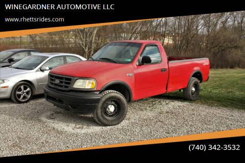 2002 Ford F-150 for sale at WINEGARDNER AUTOMOTIVE LLC in New Lexington OH