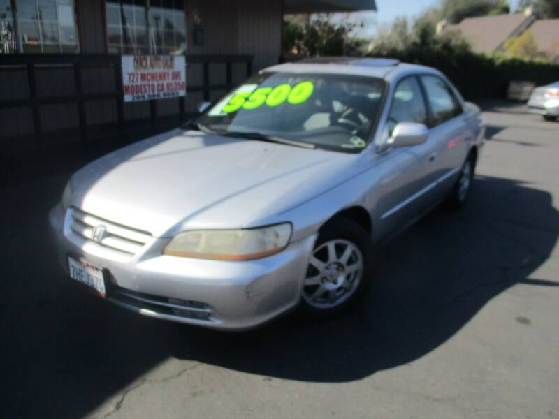 2002 Honda Accord for sale at Quick Auto Sales in Modesto CA