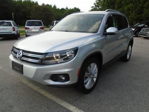 2013 Volkswagen Tiguan for sale at SAR Enterprises in Raleigh NC