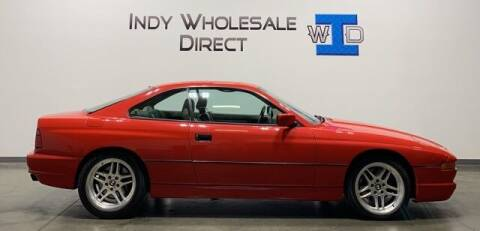 1991 BMW 8 Series for sale at Indy Wholesale Direct in Carmel IN